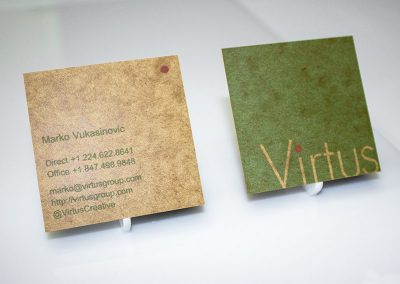 Virtus Business Cards