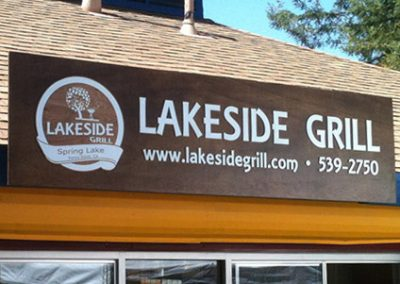 Lakeside Grill Sign