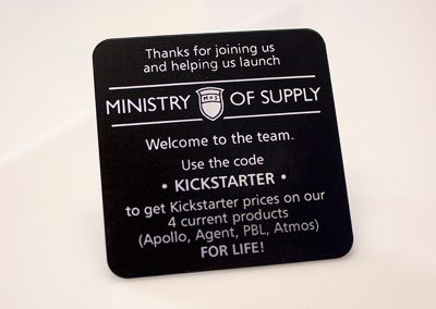 Ministry of Supply – Launch Party