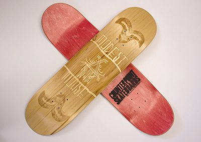 Modest Mouse Skatedecks