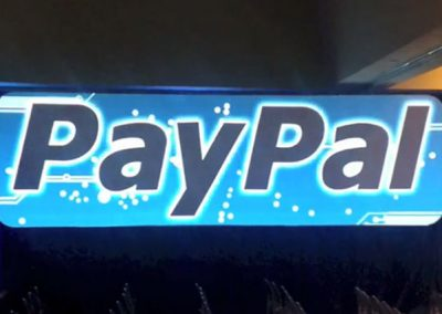 Paypal – Enhanced Lighting and Audio – Video Mapping Display