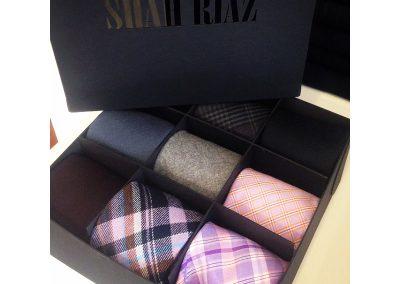 Shah Riaz Tie Box