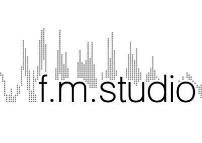 F.M. Studio Sign