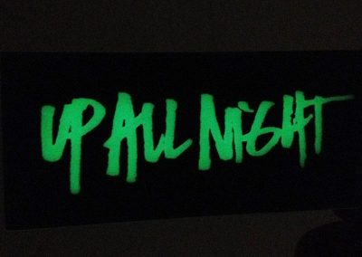 Up All Night – Glow in the Dark Cards
