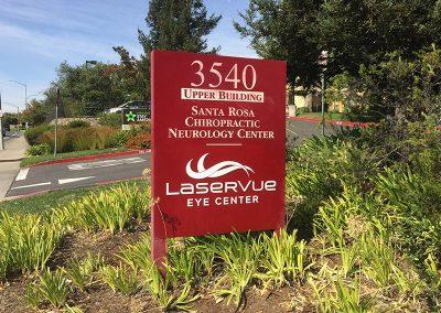 LaserVue Sign