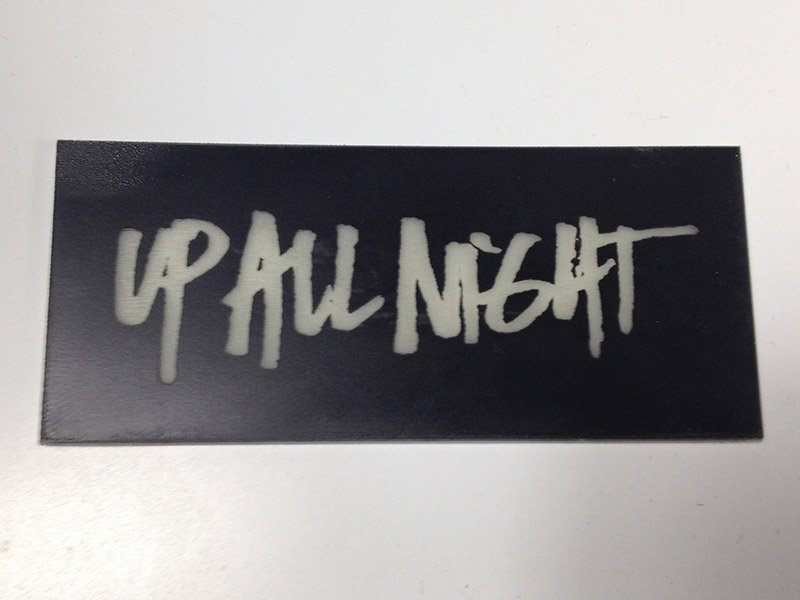 Up all night glow in the dark cards pure black inc laser and promo upall3 promo upall2 colourmoves