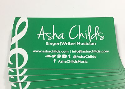Asha Childs – Business Cards